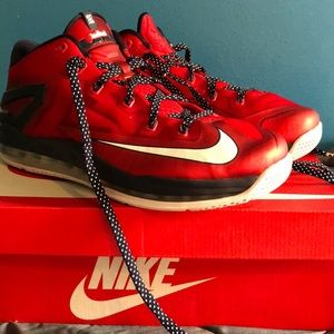Size 11 Nike Lebron 11 Independence Day Low's